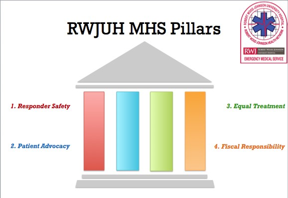 RWJUH-MHS has a proactive approach to safety within their EMS agency.