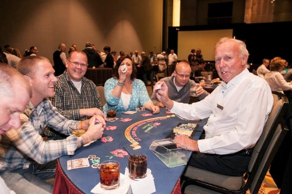 Casino Night is a Huge Hit at ZOLL SUMMIT