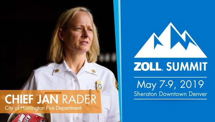 See Jan Rader at ZOLL SUMMIT 2019