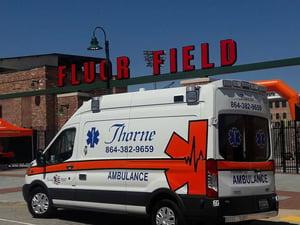 Thorne ambulance truck