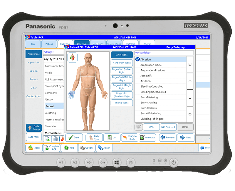 ZOLL-electronic-patient-care-reporting-software
