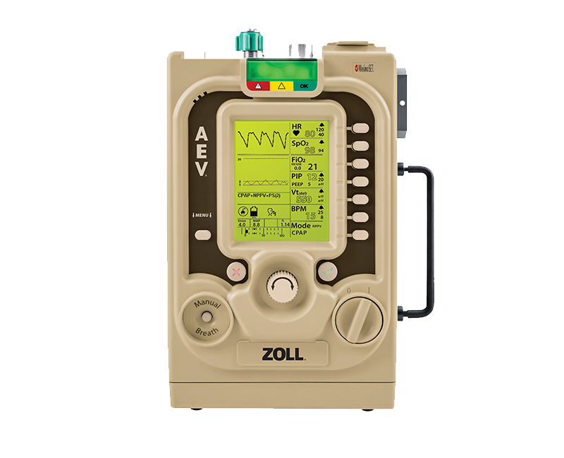 ZOLL portable ventillator for EMS