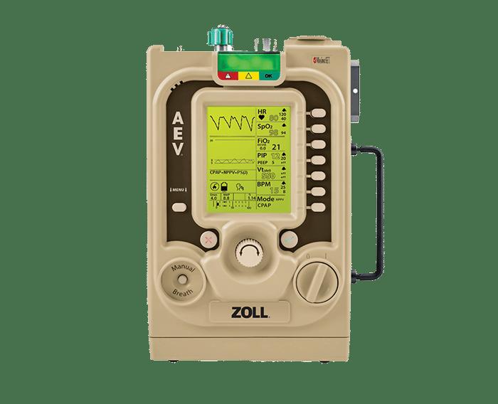 ZOLL portable ventillator for EMS