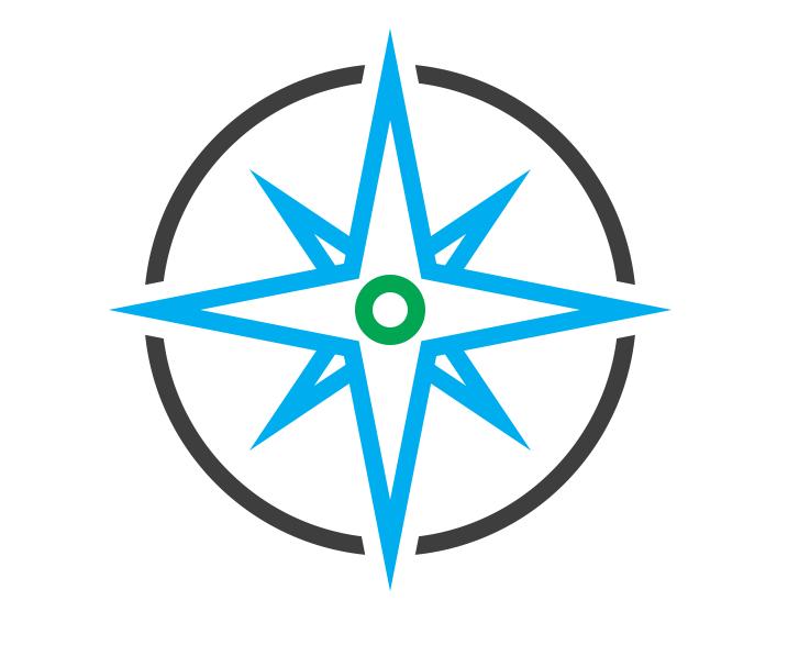 compass vector art