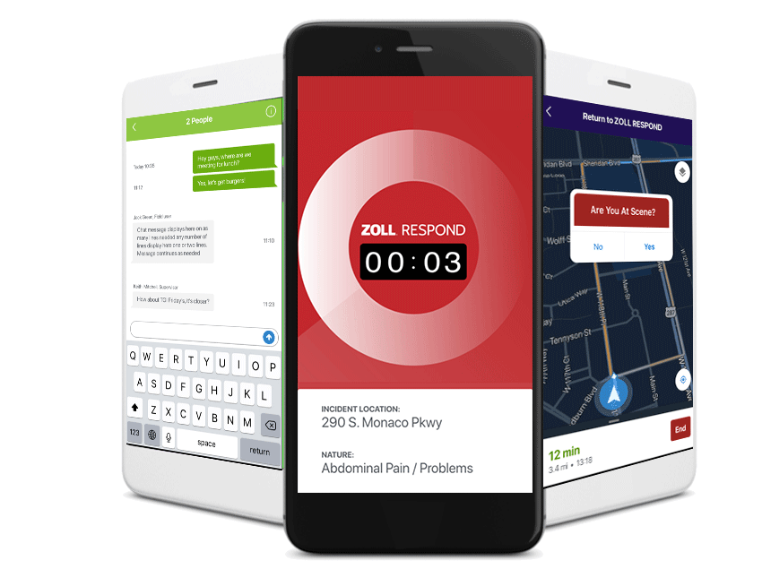 Check out our brand new mobile communication and navigation app, ZOLL Respond