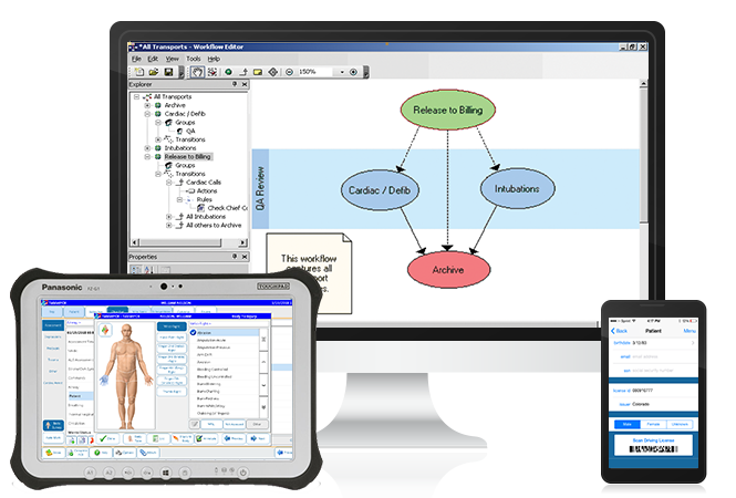 RescueNet-epcr-on-multiple-devices