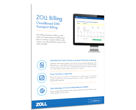 ZOLL Billing Product Sheet