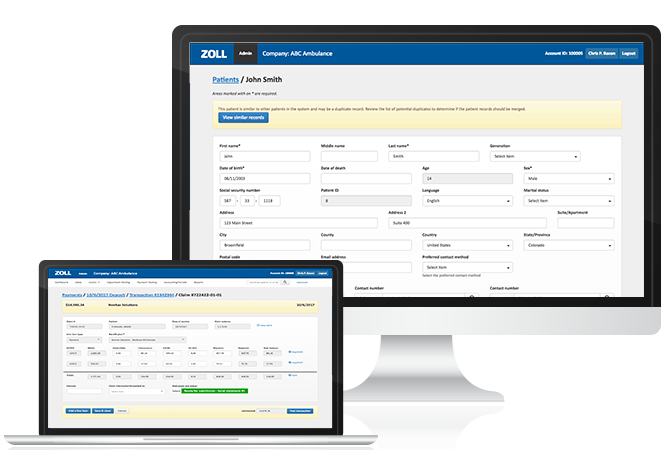 Best-Billing-on-Group_ZOLL-Billing-Page