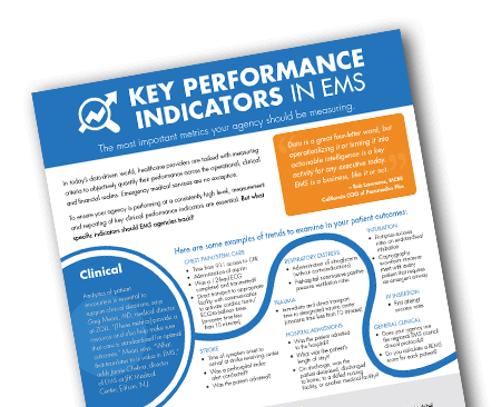 Download the tip sheet on KPIs for EMS