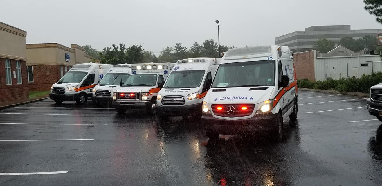 Thorne Ambulance fleet