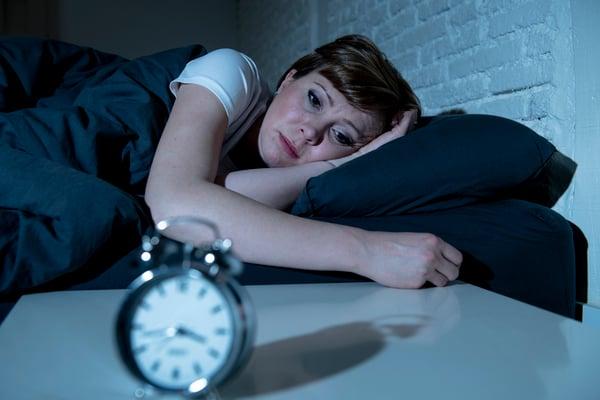 Woman woken from bad dream