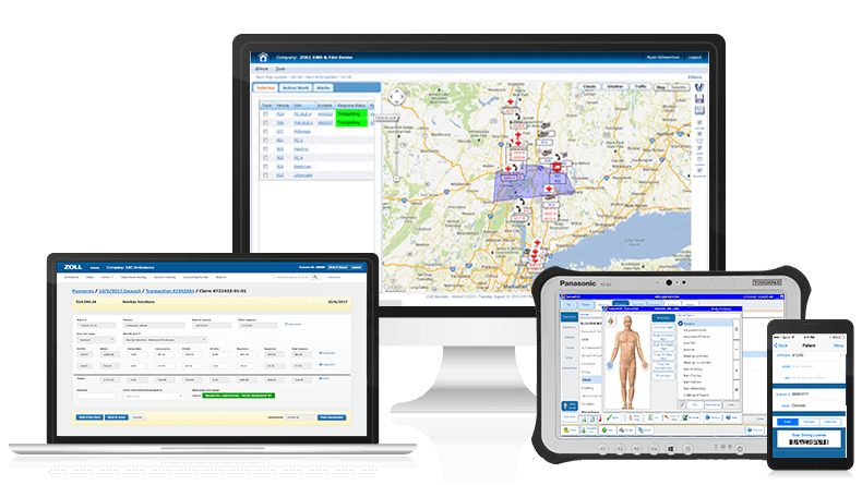 ZOLL EMS and Fire software